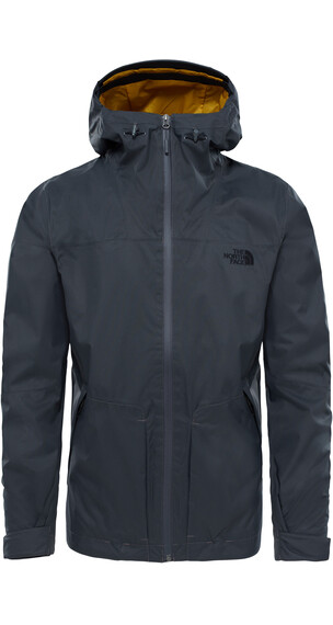 The North Face M's Frost Peak Waterproof Zip in Jacket Asphalt Grey